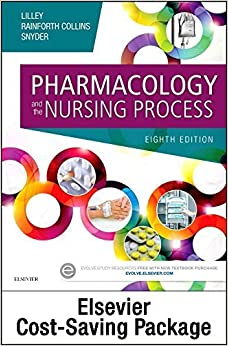 Pharmacology Online for Pharmacology and the Nursing Process (Access Code and Textbook Package), 8e by Linda Lane Lilley PhD RN (2016-02-26)