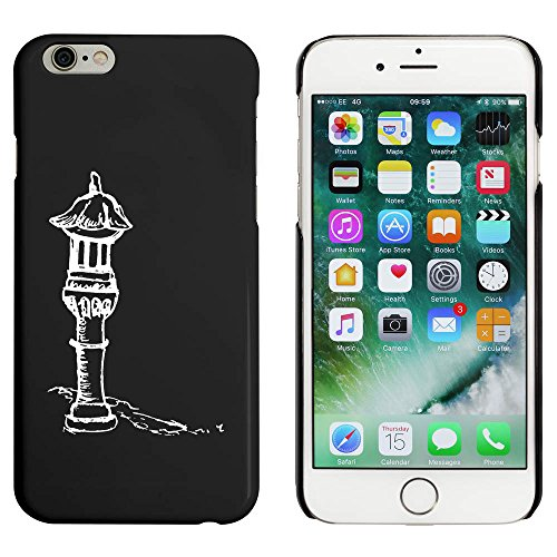 Noir 'Statue du Jardin' étui / housse pour iPhone 6 & 6s (MC00014873)