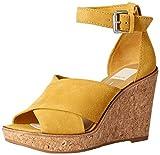 Dolce Vita Women's Urbane Wedge Sandal Honey Suede 9.5 M US