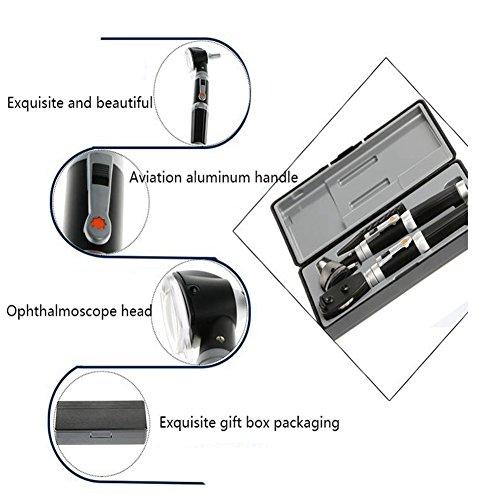 CWT WW-Fibre Optique Médicale Otoscope Haute Qualité Grandes Fenêtres Combinaison D'ophtalmoscope