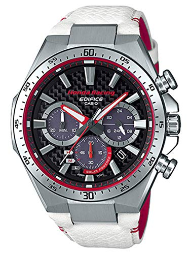 Casio Edifice Limited Edition Honda Racing White and Red Watch EQS-800HR-1A (Red Bull Casio)