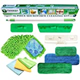 Fibermop 11 Piece Wet/Dry Microfiber Cleaning Kit