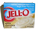 Jell-o Sugar-free Instant Pudding & Pie Filling, White Chocolate 4-pack