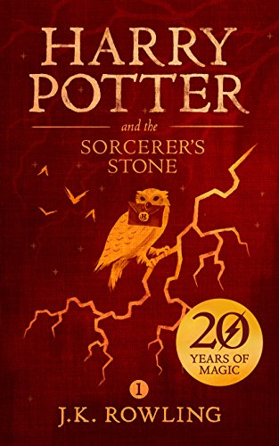 Harry Potter and the Sorcerer's Stone by J.K. Rowling cover