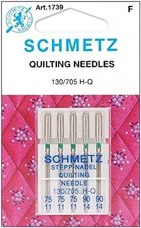 Amazon.com: Colcha máquina needles-3 – 75, 2 – 90 5/PKG ...
