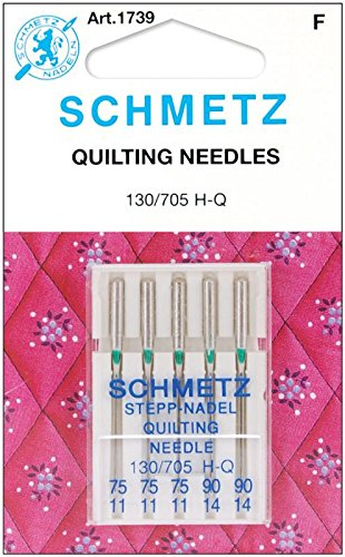 Euro-Notions Quilt Machine Needles-3-75, 2-90 5/Pkg SCHMETZ 071584