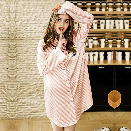 Baño Pijamas Las A De Pink Domicilio Camisón Metro Vestido Satén Hotel Bata V Con Noche Mujeres color En Servicio Párrafo Azul Cuello Corto Negligee Sexy Largo Tamaño 5qraqxtY