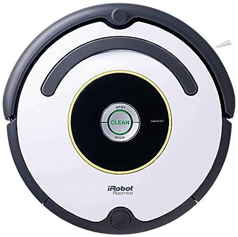 iRobot Roomba 621 - aspiradoras robotizadas (Negro, Gris, Color blanco, 0,7L, 40 m²/h, Alfombra, Laminate, Linoleum, Parquet, 34 cm)