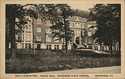 Girl's Dormitory, Young Hall, Morehead State Normal Morehead, Kentucky Original Vintage Postcard