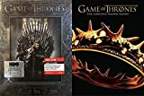 Watch George R.R. Martin's Novels Come To Life: Game Of Thrones- The Complete First Season (Target Exclusive) & Game Of Thrones- The Complete Second Season DVD Bundle