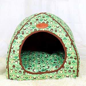 FH Pet Nest Dog Dog Dog Bed Cat House Productos para Mascotas Casetas para Perros: Amazon.es: Productos para mascotas