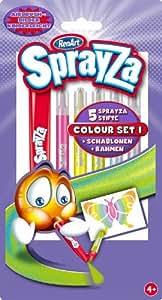 RenArt RA22010  - Juego de rotuladores SprayZa, varios colores [importado de Alemania]