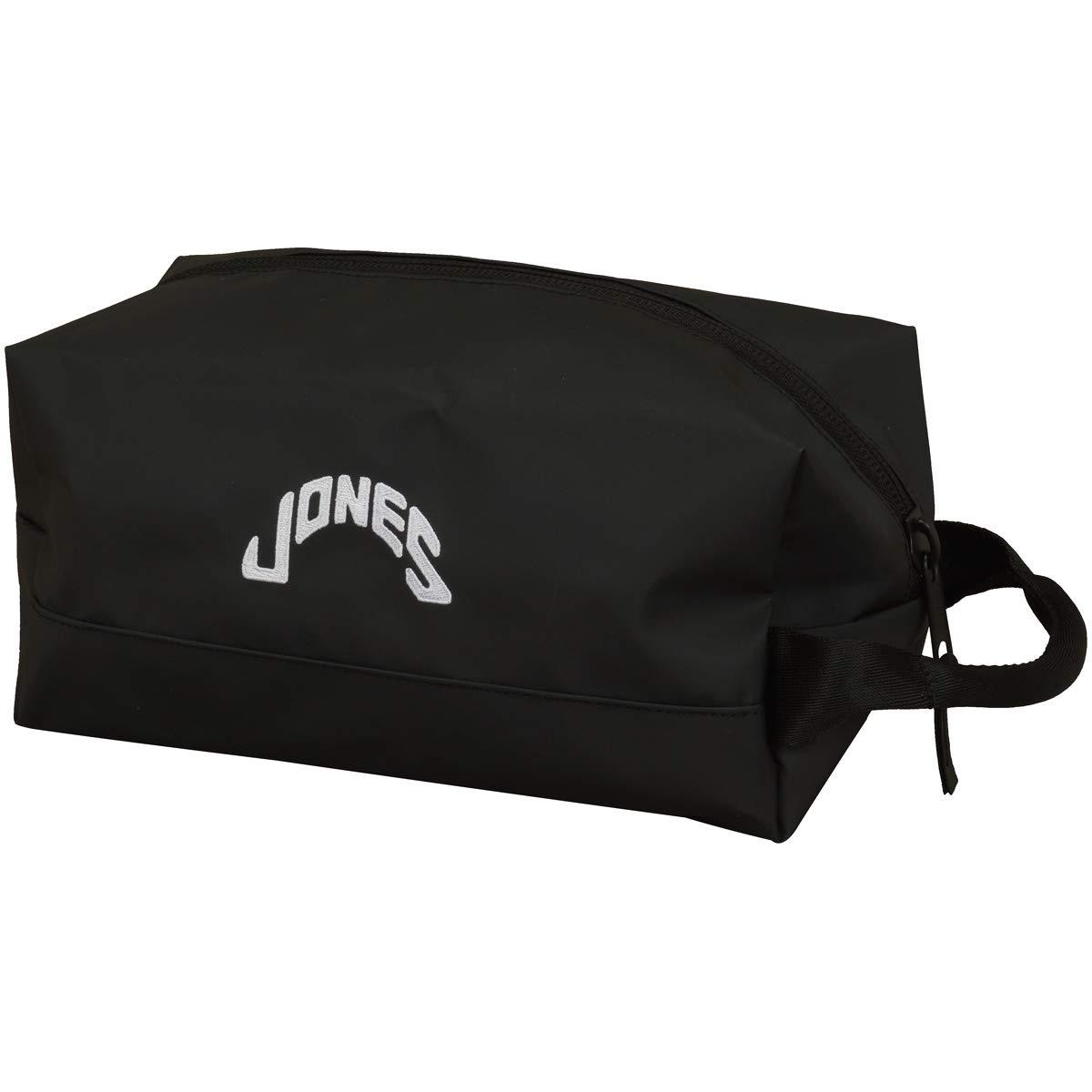 ジョーンズ JONES ラウンド小物 ポーチ  ブラック B07SBQQSVR