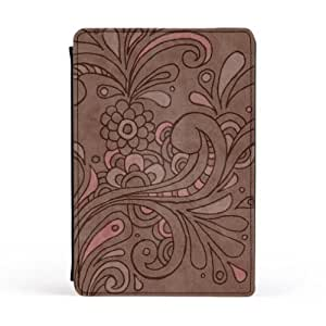 Floral-003-B- noname Premium Faux PU Leather Case, Protective Hard Cover Flip Case for Apple® iPad Mini by UltraCases + FREE Crystal Clear Screen Protector