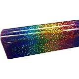 "Siser Hologram Iron On Heat Transfer 3' (1Yard) 20"" x 36"" Roll, Holographic HTV (Rainbow)"