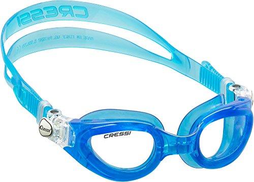 Cressi ROCKS, Kid Swim Goggles - Age 7, 8, 9, 10, 11, 12, 13, 14, 15 (made in Italy)