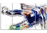 Digital Art PT2574-271 ''Soccer Big Kick'' Sport Canvas Art Print, Large