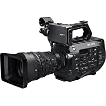 Sony PXW-FS7 4K XDCAM Camcorder Super 35 CMOS Sensor w/Servo Zoom E-Mount FE PZ 28-135mm Lens - International Version (No Warranty)