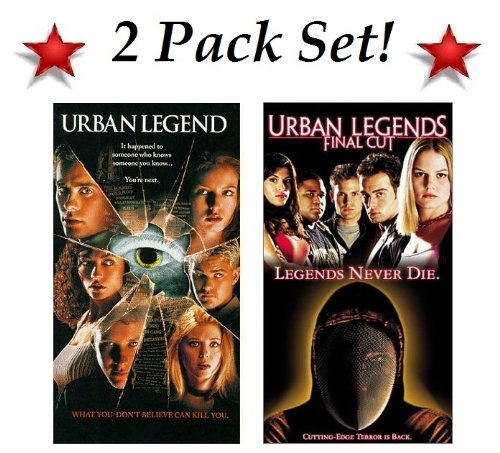 2 Pack Set! Urban Legend & Urban Legends Final (Halloween Movies The Complete Collection)