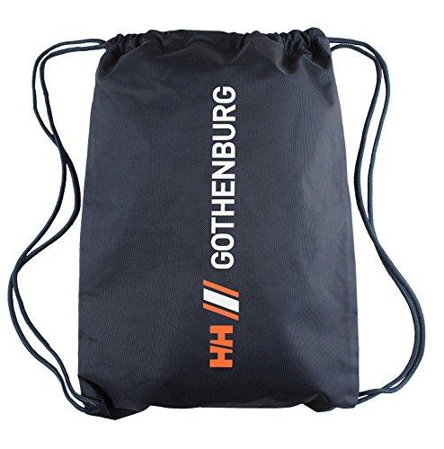 Helly Hansen City Gym Sack Bag (One Size, Navy/Gothenburg)