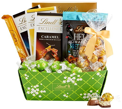 Lindt Chocolate Spring Celebrations Basket, 42.4 Ounce