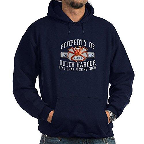 Sweatshirt Harbor Dutch (CafePress DUTCH HARBOR CRABBING Hoodie (dark) - Pullover Hoodie, Classic & Comfortable Hooded Sweatshirt)