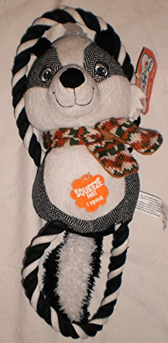 Toysrus Pets Plush Skunk With Figure 8 Rope