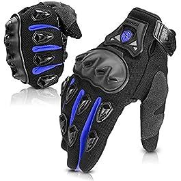 Sprügal® Motorcycle Gloves for Men Women, Summer Motorcycle Riding Gloves, Touchscreen Breathable Motorbike Gloves for…