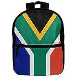 South Africa Flag Kid's Fashion Shoulder Bag Travel Backpack