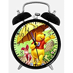 Winnie The Pooh Alarm Clock Z07 Nice for Gifts or Decor