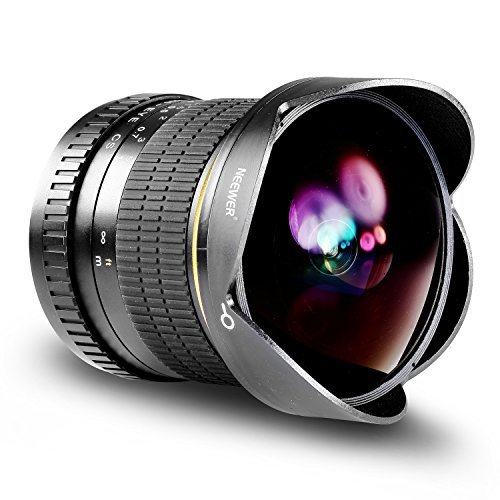 Neewer Pro 8mm f/3.5 Aspherical HD Fisheye Lens