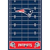 Amazon Price History for:DesignWare New England Patriots Plastic Table Cover, 54 by 102""