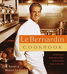 Cusine from New York's four-star seafood restaurant, Le Bernardin, is made accessible to everyone in more than 100 meticulously formulated and carefully tested recipes for all courses, from appetizers through dessert, in this cookbook from L...