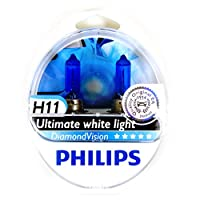 Philips H11 Diamond Vision Halogen Headlamps
