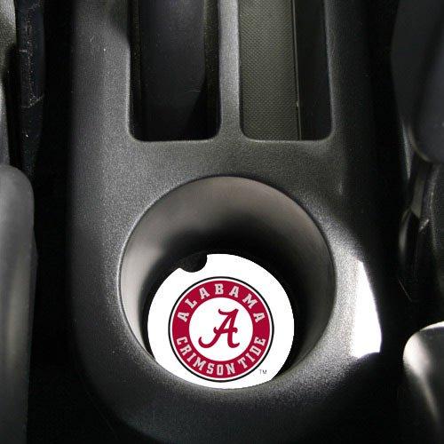 Car Tide Crimson Mats Alabama (NCAA Alabama Crimson Tide Absorbent Car Coaster - Pack Of 2)