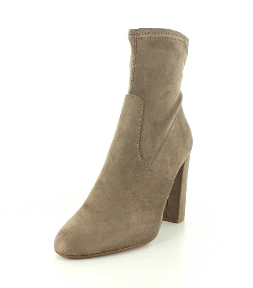 Steve Madden Women's Edit Bootie Casual B01K5NF2UY 8 B(M) US|Taupe