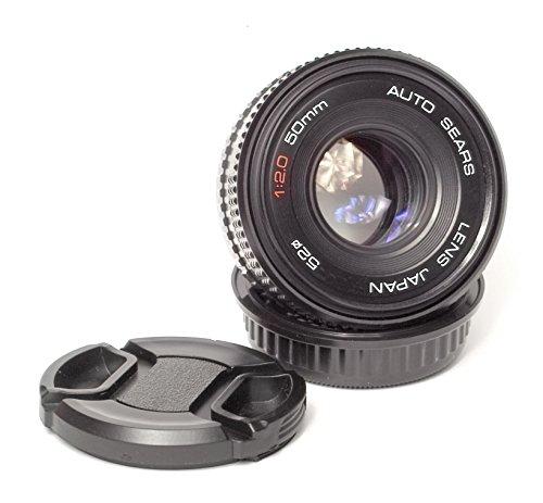 Sears 50mm f/2 Manual Focus Lens Pentax K Mount (Sears Manual)