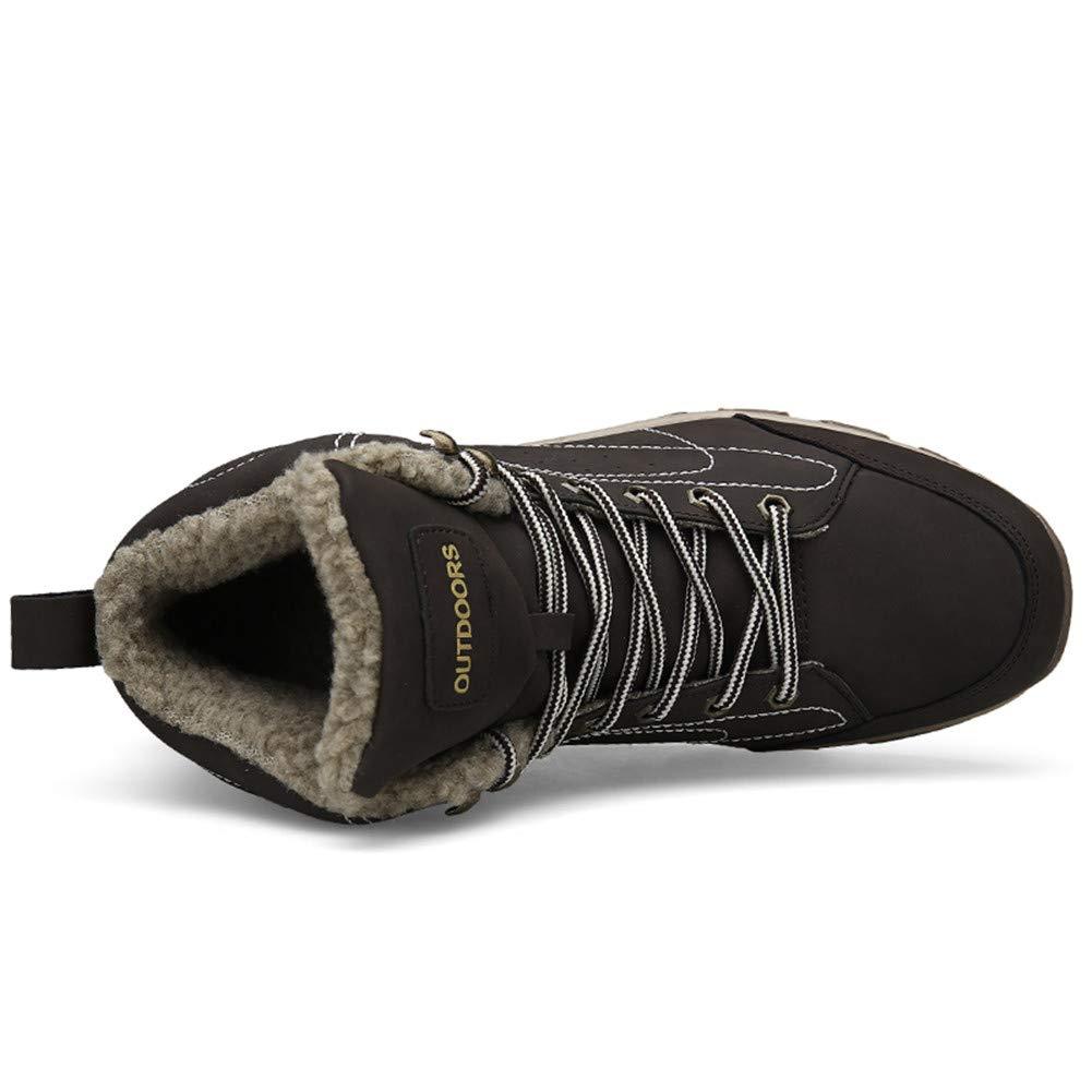 Fexkean Homme Chaussures de Randonn/ée Chaussures Sports de Plein Imperm/éable Boots Adventurer Confortable et Respirant Noir Marron Kaki 38-46