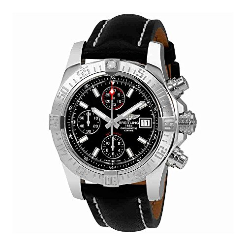 Breitling Avenger II Automatic Black Dial Mens Watch A1338111/BC32BKLT
