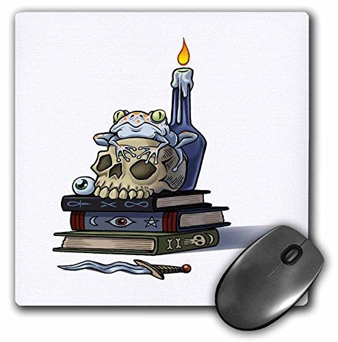 3dRose Dooni Designs Halloween Designs - Cast A Spell Witchcraft Halloween Design - MousePad -