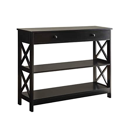Excellent Amazon Com Hall Console Table With Drawer 2 Shelves Storage Download Free Architecture Designs Rallybritishbridgeorg