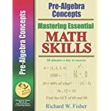 Mastering Essential Math Skills PRE-ALGEBRA CONCEPTS.INCLUDING AMERICA'S MATH TEACHER DVD WITH OVER 6 HOURS OF LESSONS!