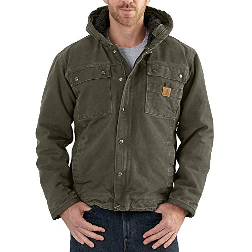 Carhartt Men's Big & Tall Bartlett Jacket, Moss, X-Large/Tall