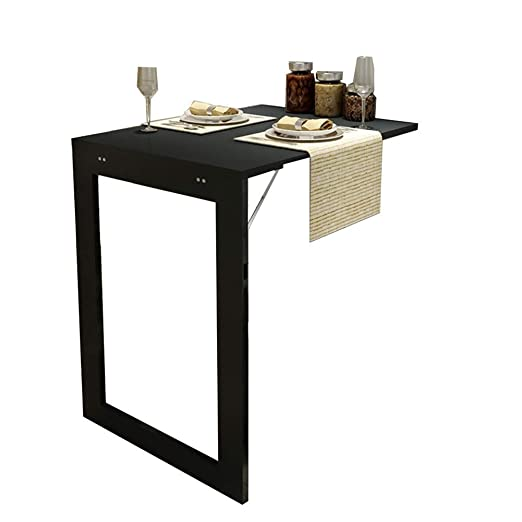 Mesa de bar de desayuno para cocina con montaje en pared ...