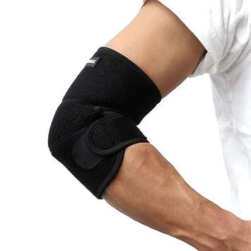 Amazon | 肘サポーター 肘の固定...