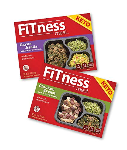 Keto Fitness Meals 5 Carne Asada and 5 Chicken Total 10 Meals $79 - Gourmet Meals Frozen