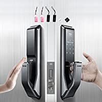 Push Pull Innovation SAMSUNG SHS-P710 digital door lock keyless touchpad security EZON + Remote + 4pcs of RFID Cards + 4pcs of Key Tags + 4pcs of Sticky Key Tags