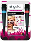 SingStar 80's Bundle (Includes 2 Microphones) - PlayStation 2