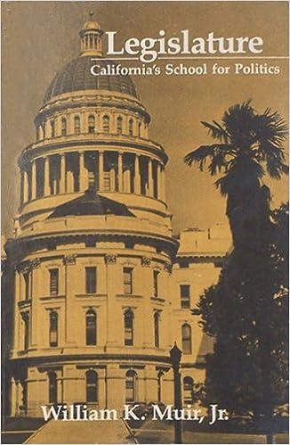 legislature california s school for politics william ker muir