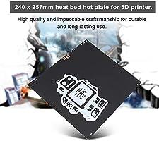 ASHATA 24V 170W Sustrato de Aluminio de lecho Caliente 257 * 229 ...